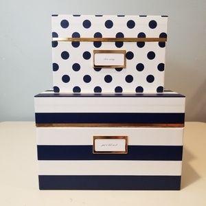 Kate Spade Nesting Boxes set of 2